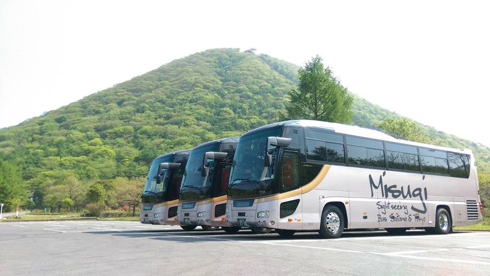 榛名山観光新車導入の画像