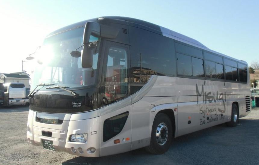 飯能市 観光バス 美杉観光バス 東京沖縄バス 大型60人乗りの画像