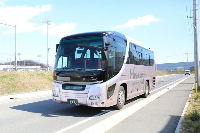 飯能市 観光バス 美杉観光バス 東京沖縄バス 中型27人乗りバスの画像