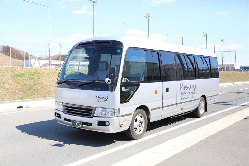 飯能市 観光バス 美杉観光バス 東京沖縄バス マイクロ28人乗りバスの画像